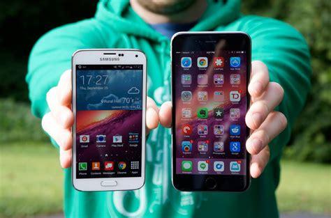 samsung galaxy s5 vs iphone 6 iphone 6 plus vs samsung galaxy s5