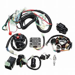 125cc 150cc 200cc 250cc Quad Electric Cdi Coil Wire