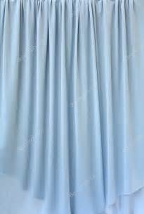 blue grey curtain fabric background texture stock photo