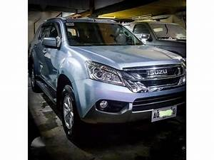 2015 Isuzu Mux 4x2 Manual Transmission For Sale Quezon