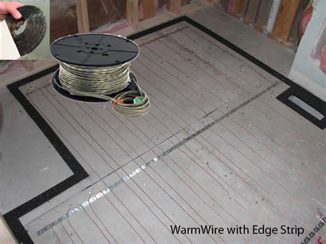 suntouch floor warming kit suntouch radiant warmwire kits 40 sq