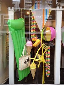 Summer, Window, Display, At, Optic, Store, Styled, And, Created, By, Rich, Art, Design, The, Netherlands