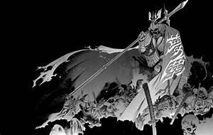 Samurai Bw Black Drawing Warrior Dark Skulls Warrior ...