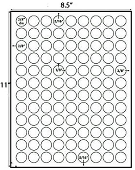 small  printable labels dots  stickers qty