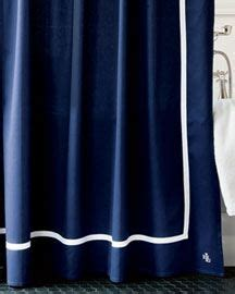 Polo Ralph Bathroom Sets by 1000 Ideas About Navy Shower Curtains On