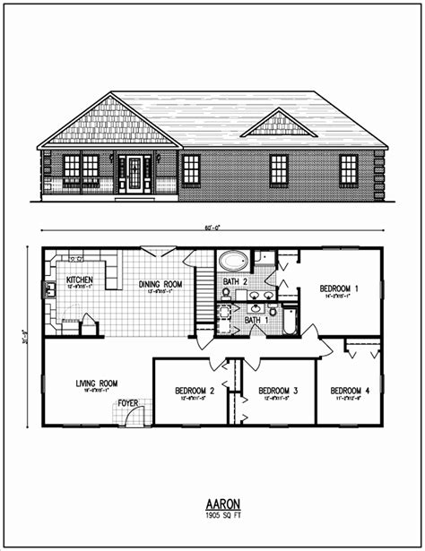 home construction plans ranch style house plans unique open floor small home