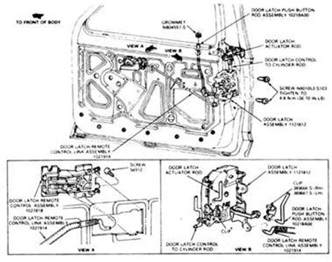 door lock diagram   ford ranger fixya