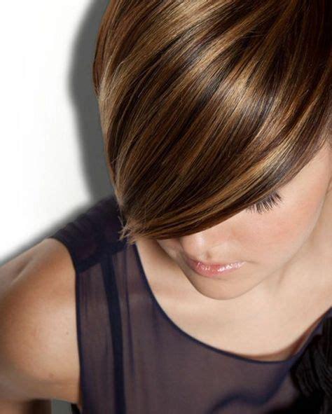 coupe carré asymétrique 1001 variantes du balayage caramel pour sublimer votre coiffure hair and