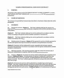 Lawn Care Service Agreement Free 7 Service Contract Form Samples In Sample Example