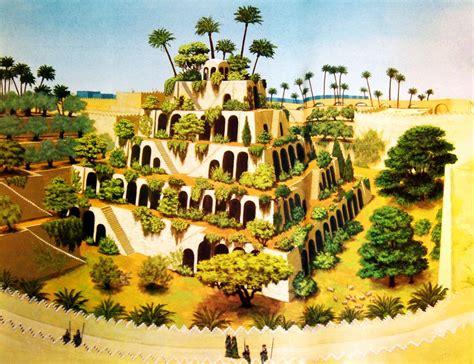 Висячие сады Семирамиды фото, история, где находятся
