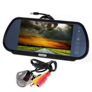 Camera De Recul Clio 4 Medianav : r troviseur avec ecran tft lcd 7 39 39 17 8 cm cam ra de recul 170 degr s pour voiture noir ~ Medecine-chirurgie-esthetiques.com Avis de Voitures