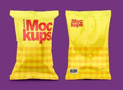 Outstanding quality food packaging object. Snack Packaging Mockups | Empaques y Abarrotes