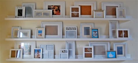 gallery ledge shelves ana white ten dollar ledges diy projects