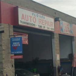 flores auto repair auto repair   mcfadden ave