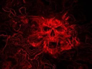 Evil Skull Wallpaper ·①