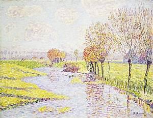 Baum Am Wasser : paul baum hollaendische landschaft mit weiden am wasser ~ A.2002-acura-tl-radio.info Haus und Dekorationen