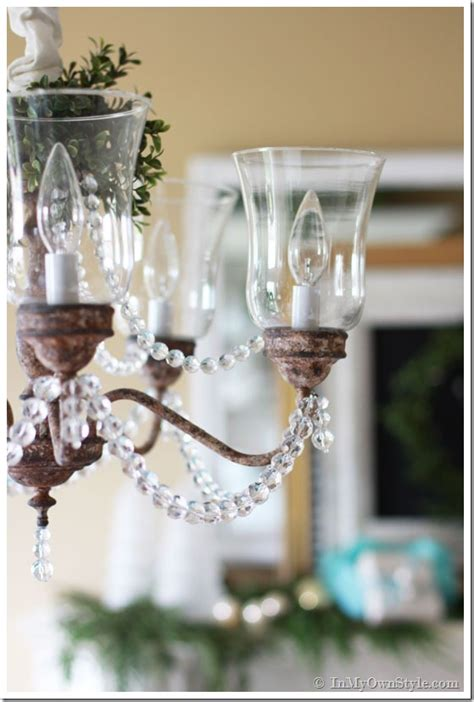 dining room brass chandelier makeover in my own style