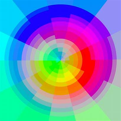 Colors Gifs Hypnotic Illusion Spiral Animated Op