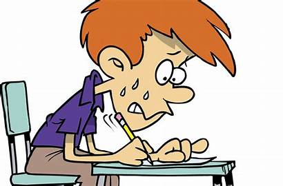 Students Anxiety Law Professor Student Clipart Taking