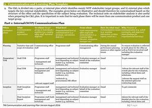 Three Templates For Communications Planning