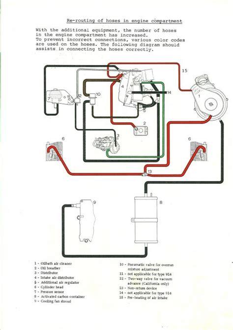Engine Vacuum Diagram 1973 Vw Bu by 914world The Largest 914 Community