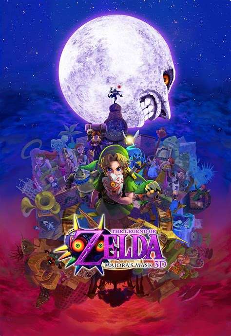 Check Out This Massive High Resolution Majoras Mask