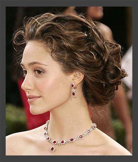 hair styles curly hairstyles classic sort medium wedding hair updos simple 5372