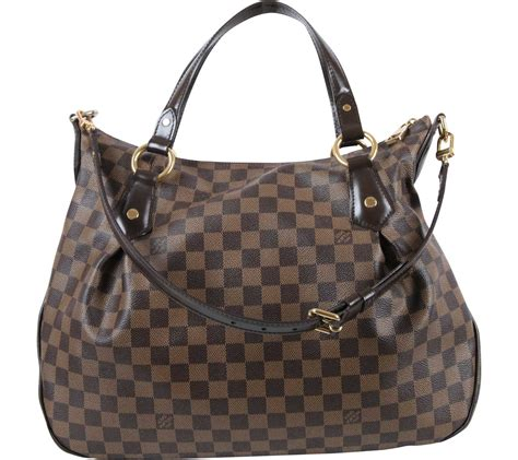 louis vuitton brown monogram shoulder bag