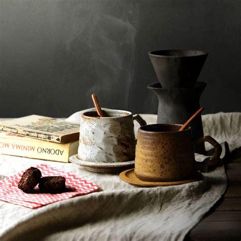 ml pure handmade japanese zen ceremony ceramic rough