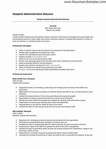 hospital resume examples examples of resumes With hospital resume