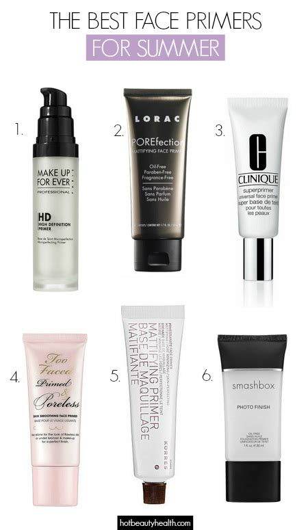 The Best Face Primers For Long Lasting Summer Makeup