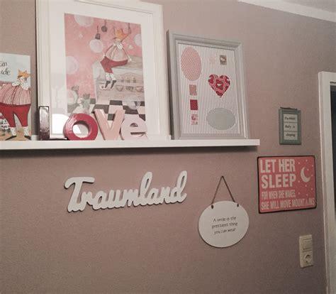 Ideen Prinzessinnen Kinderzimmer by Wand Kinderzimmer M 228 Dchen Rosa Traumland Prinzessin