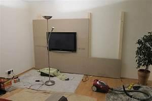 Tv Media Wand : media wand selber bauen stein neuesten design kollektionen f r die familien ~ Sanjose-hotels-ca.com Haus und Dekorationen