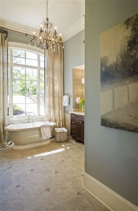 choose  cool neutral   relaxing master bathroom
