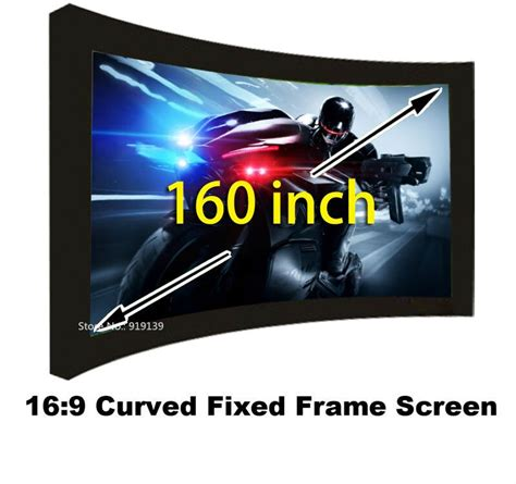 buy huge cinema hd screen   flat