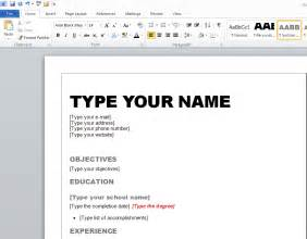 How To Create A Resume Template Pdf Converter Elite How To Create A Winning Resume In Microsoft Word