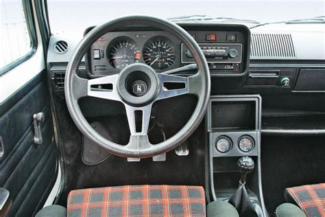 auto repair manual online 1976 volkswagen golf interior lighting vw gti mk1 interior best car to have plaid seats best cars coches golf gti autos