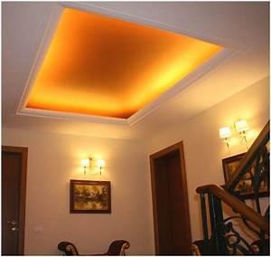 Indirekte Deckenbeleuchtung Wohnzimmer : indirekte deckenbeleuchtung selber machen indirekte ~ Michelbontemps.com Haus und Dekorationen