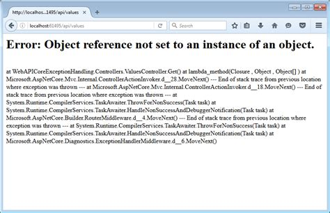 global exception handling in asp net web api