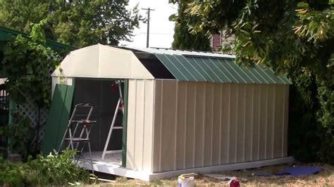 sears metal sheds 20 how to build a sears metal shed end