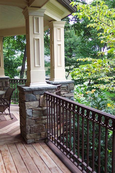 natural stone patio wall design  pools landscaping nj