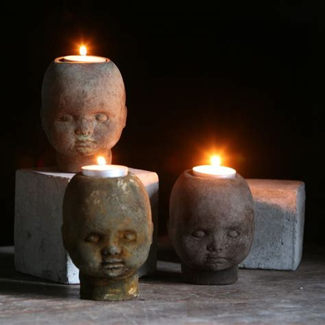 Halloween Taper Candles by 15 Creepy Gothic Candle Holder Ideas For A Scary Halloween