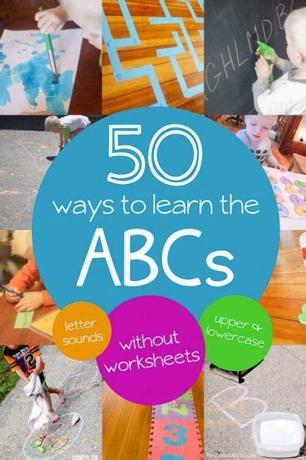incredible alphabet activities games  preschoolers
