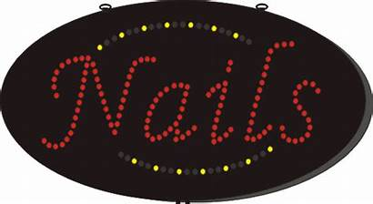 Animated Inches Led Nails Wholesale Quantity Signs