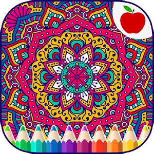 install mandalas adults coloring book  unlimited