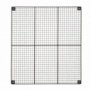 Black Wire Wall Grid  U0026 Components