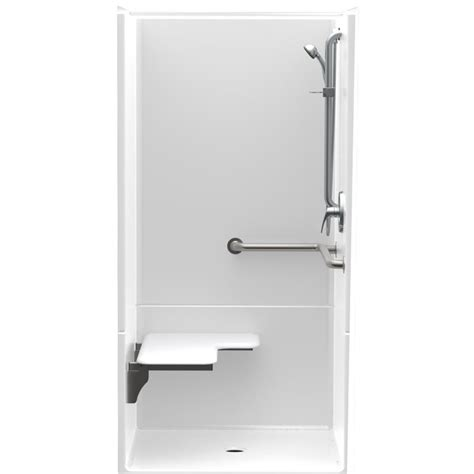 36 Shower Stall - aquatic accessible acrylx 36 in x 36 in x 75 in 2