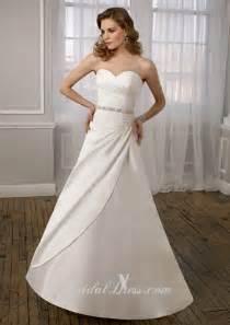aline wedding dress beaded simple a line wedding dress of 2012 prlog