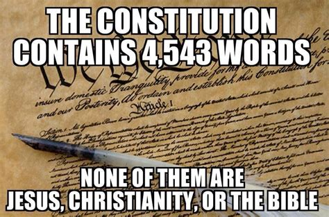 Constitution Memes - separation of church and state the secular constitution always question authority