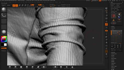 Zbrush Detailing Clothes